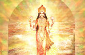 Lakshmi's Birth from the Milk Ocean
