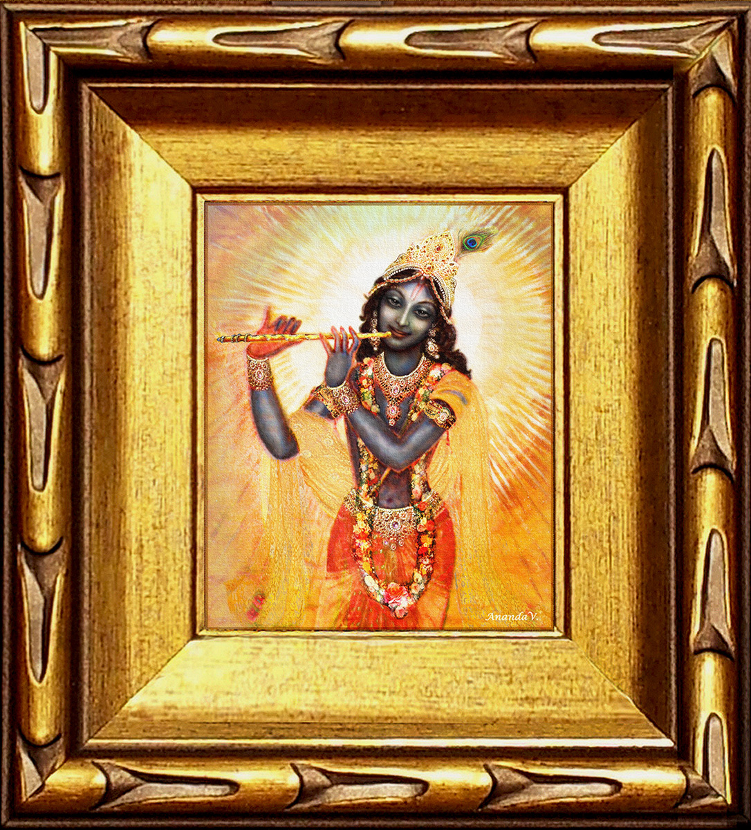Krishna with the Flute